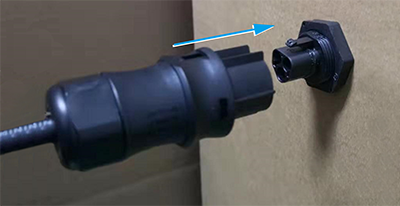 Connector Docking of Male and Female.-1